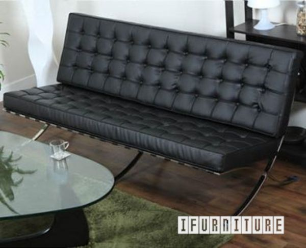 Picture of BARCELONA 3 Seater Sofa *Italian Leather