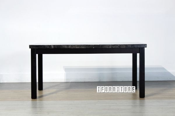 Picture of PASADINA Marble Top Dining Table *Black