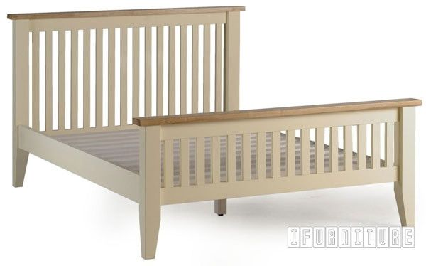 Picture of CAMDEN Bed in Single/ Double/ Queen/ Super King Size *Solid Ash Top