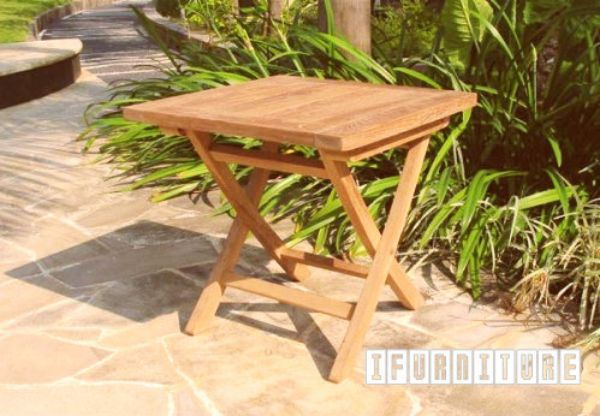 Picture of BALI Solid Teak Model 058 Square Folding Table