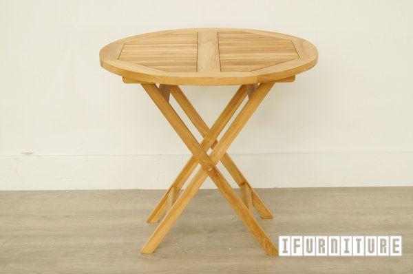 Bali Solid Teak D80 Round Table Model 122c