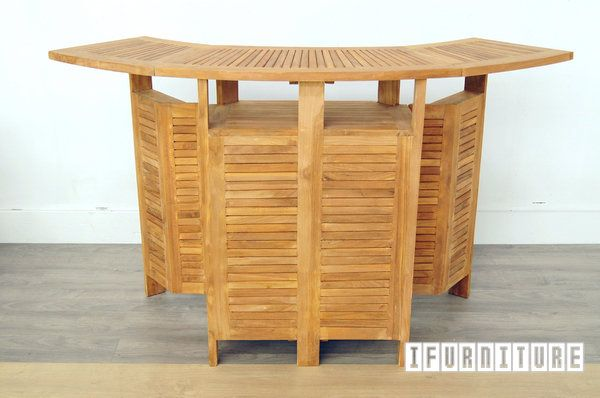 Picture of BALI Solid Teak Extension Bar Counter Model 140