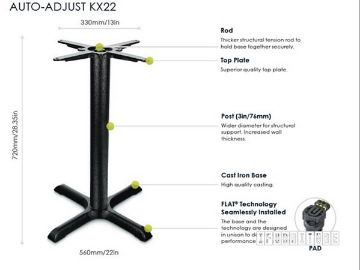 Picture of KX22 FLATTECH Auto Adjust Table Base