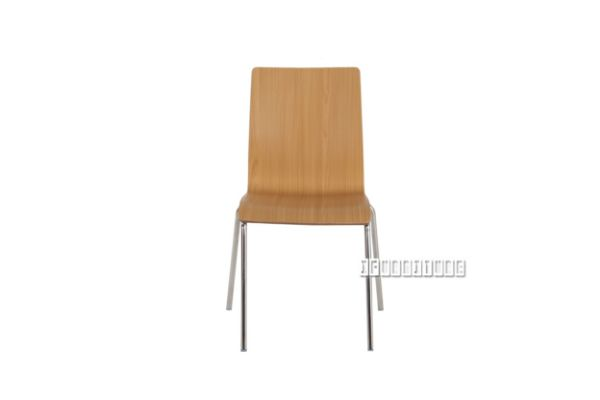 Picture of FUSION Bi-color Bent Wood Chair