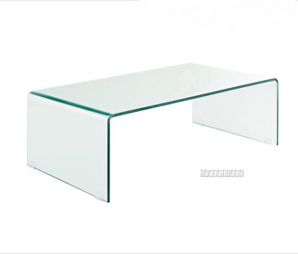 Picture Of MURANO Bent Glass Coffee Table Without Shelf