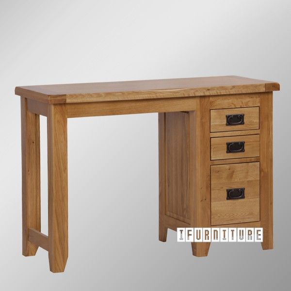 Picture of RIVERLAND Solid OAK Single Pedstal Table