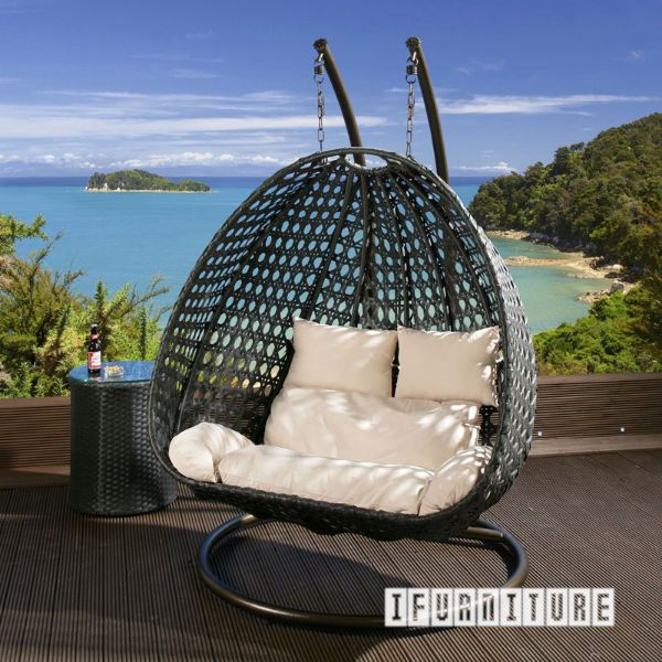 Architect Double Seat Rattan Hanging Egg Chair
