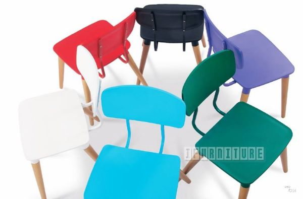Picture of ATHENA Chair *Black/White/Blue