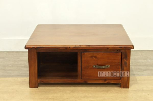 Federation Rustic Pine Square Coffee Table