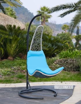 Picture of RANGITOTO Hanging Wicker Swing Chair