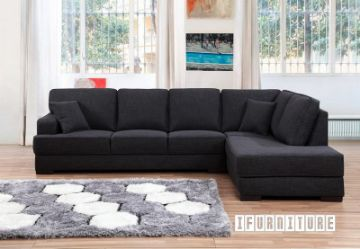 Picture of KARLTON L Shape Sofa *Dark