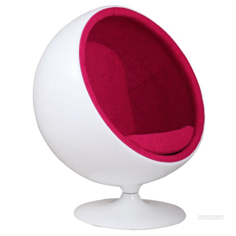 Replica Child S Ball Chair Fiber Glass Amp Cashmere