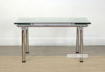 Picture of MILTON Clear Glass Extension Dining Table
