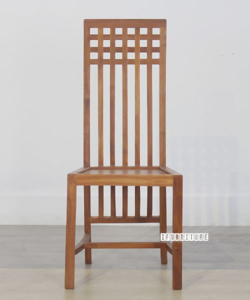 Picture of BALI Solid Teak Square Back Top Chair