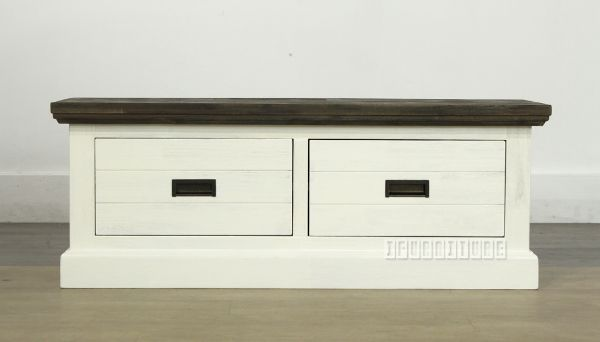 Picture of GOMERA Storage Bench/ Storage Box with 2 Drawers