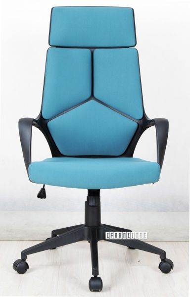 Picture Of Sutton High Back Office Chair Blue