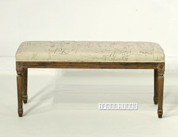 Picture of SCARLETT Ottoman Bench *Solid Beech