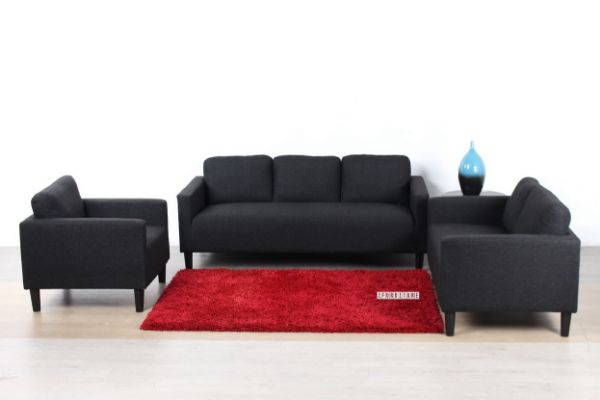 Outstanding Lucetta Sofa Range Black Gmtry Best Dining Table And Chair Ideas Images Gmtryco