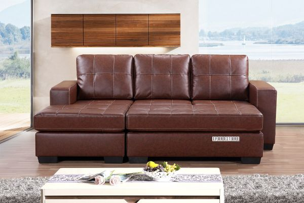 Jessie Sectional Sofa With Ottoman Reversible Amp Sofa Bed