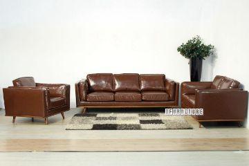 Picture of PANAMA 3+2+1 Sofa Range *Brown