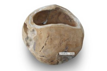 Picture of DECO T107 Hollow Root Ball *Solid Teak