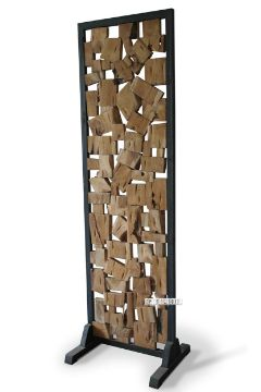 Picture of DECO T115 Room Divider Zigzag *Solid Teak
