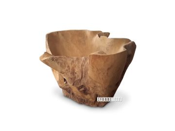 Picture of DECO T106 Root Vase *Solid Teak
