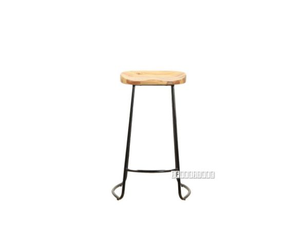 Picture of LUBAN Bar Stool with Ash Seat