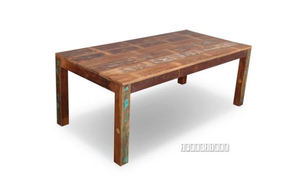 Picture of MALMO Solid Recycled Wood 180/ 200 Dining Table