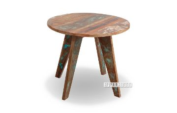 Picture of MALMO Solid Recycled Wood Round Side Table