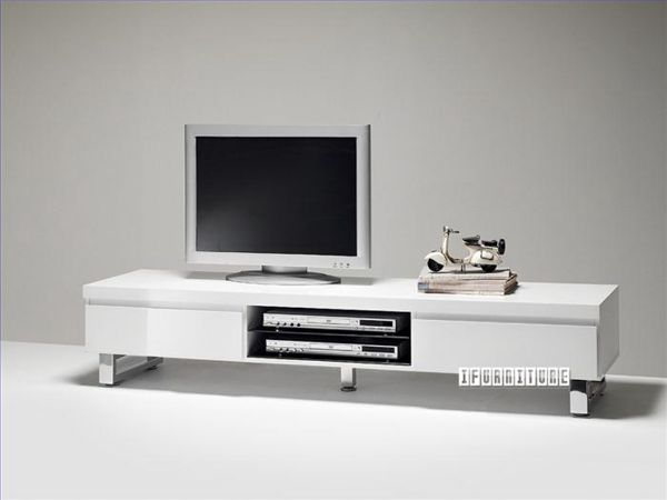 Sydney White High Gloss 1665 Tv Unit