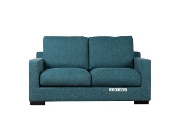 Picture of BLANDFORD Sofa Range in Baby Blue *Feather Filled