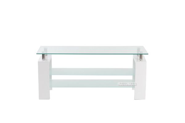 Picture of HORIZON Glass 120 TV Unit *White