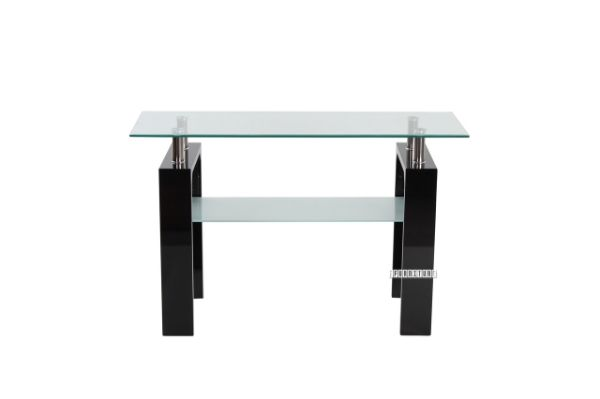 Picture of HORIZON Glass Console Table *Black