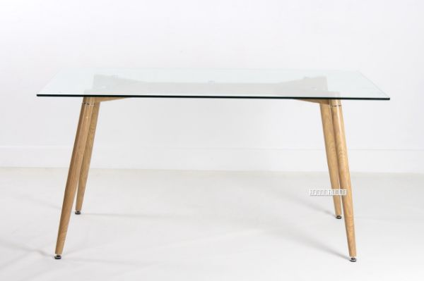 Crewe Glass Rectangle Dining Table