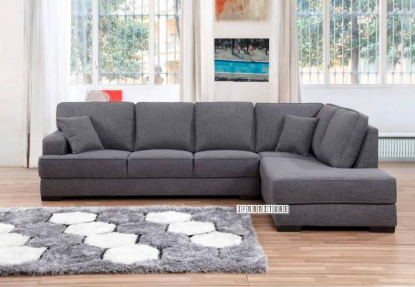 KARLTON L Shape Sofa *Light Grey