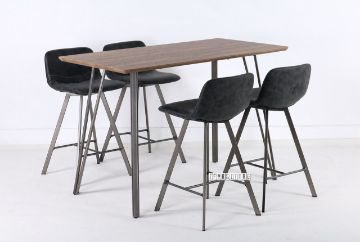 Picture of PLAZA 5PC Bar Set *Dark Grey