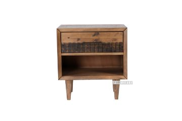 Picture of HENDRIX 1D Bedside Table *Solid Reclaimed Pine