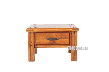 Picture of FOUNDATION Rustic Pine Side Table