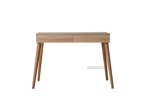 Picture of RENO 2 Drawer Desk *Solid Wood Leg