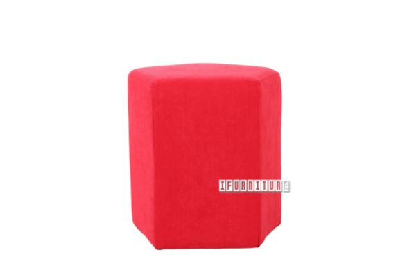 Picture of VENUS Ottoman  *Strawberry Red