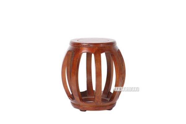Picture of MING Drum Stool *Solid Elm