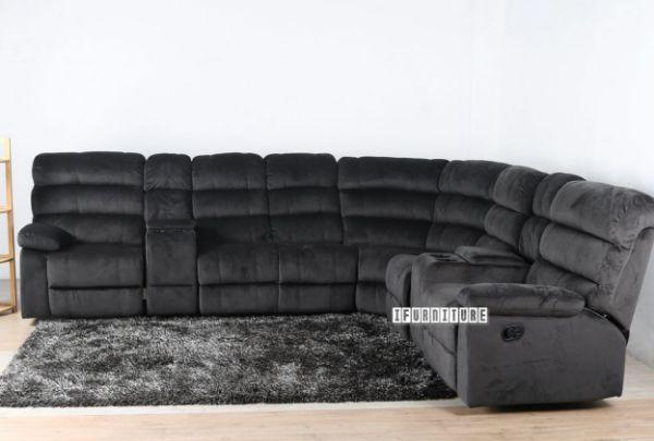 Super Kane Reclining Corner Charcoal Evergreenethics Interior Chair Design Evergreenethicsorg