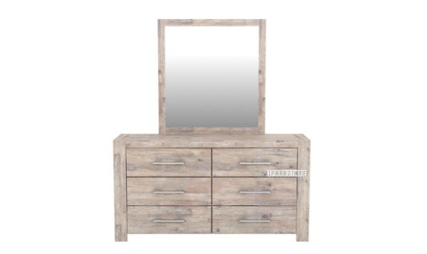 Picture of ARYA Dressing Table & Mirror*Solid Acacia