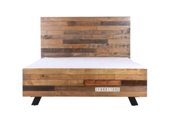 Picture of BARBADOS Reclaimed Timber Bed in Double /Queen /Super King Size