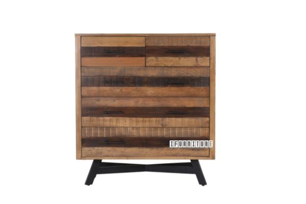 Picture of BARBADOS Reclaimed Timber 5D Tallboy