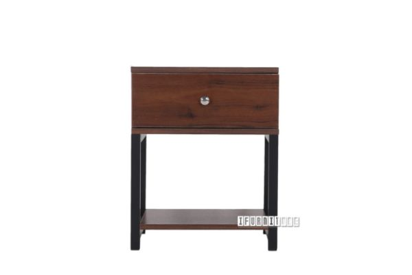 Picture of OXFORD Bedside *Walnut Colour