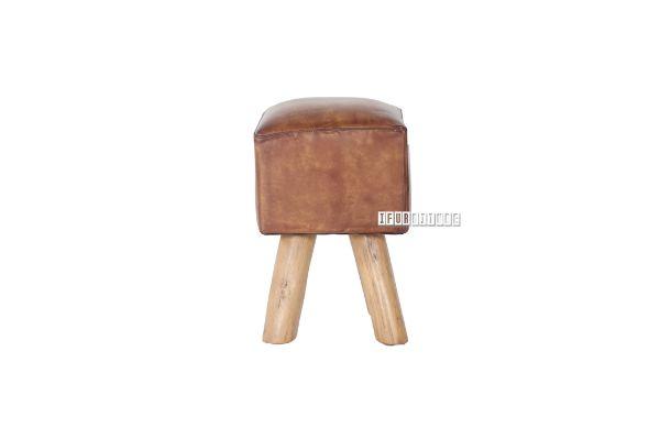 Picture of ARFAK Square Stool *Genuine Cowhide