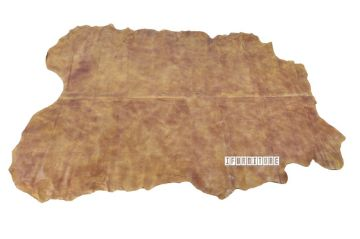 Picture of Plain Brown Mat/Carpet * Genuine Cowhide