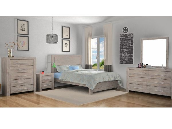 Picture of ARYA Bedroom Combo in Queen/ Eastern King Size Bed *Solid Acacia